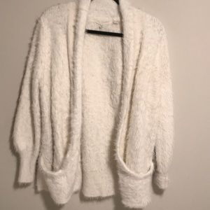 Furry Anthropologie Cardigan
